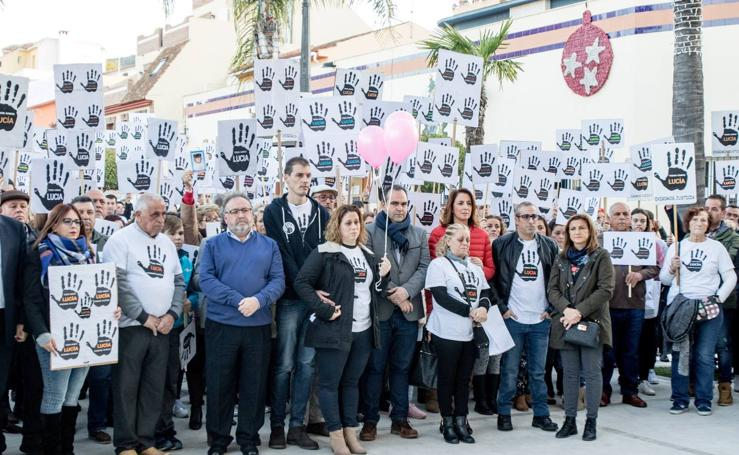Alhaurín de la Torre pide «justicia» para Lucía Vivar