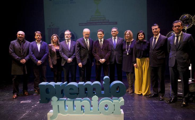 La gala del 15 Premio Junior de Empresas del IMFE, en imágenes