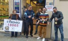 Todas las fotos de los premiados de la Lotería de Navidad en Málaga