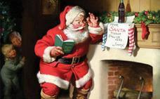Papá Noel no viste de rojo y blanco por la Coca-Cola