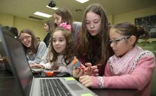 Navidad tecnológica con talleres especiales para niñas en Principia