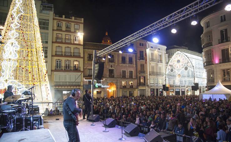 Así celebró Málaga la Nochevieja