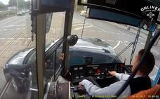Así viven desde dentro los accidentes los conductores de tranvías