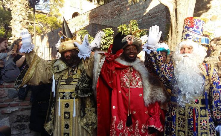 Las mejores fotos de la Cabalgata de Reyes de Málaga