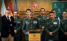 ¿Qué significan las insignias de los mandos de la Guardia Civil del 'caso Diana Quer'?
