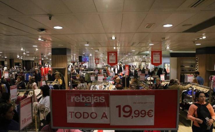 Las rebajas arrancan oficialmente en Málaga