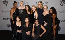 Hollywood se sacude sus demonios y grita contra el acoso en los Globos de Oro