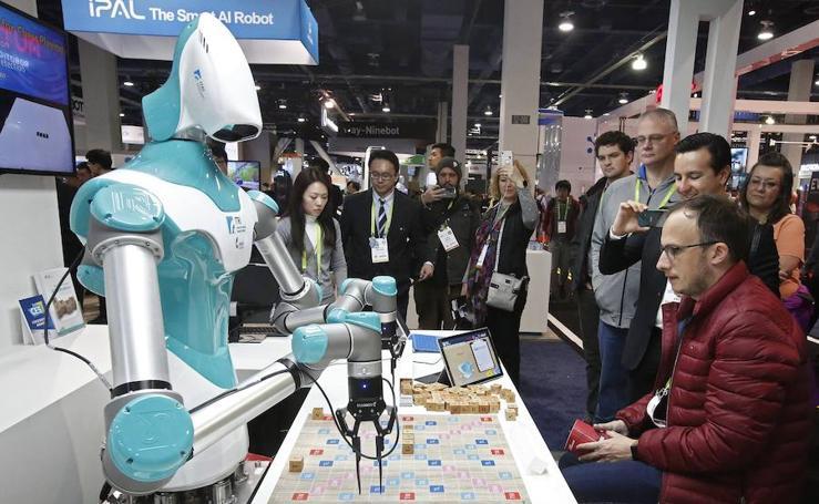 Inauguración de la Feria de Electrónica de Consumo en las Vegas
