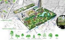 El Ayuntamiento de Málaga se marca como «prioridad» el parque en los suelos de Repsol