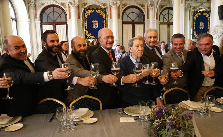 Celebración del 90 cumpleaños de Manuel Alcántara