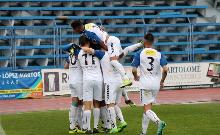 El Marbella golea al Córdoba B