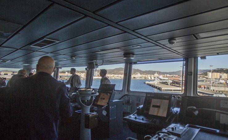Así es el buque Royal Navy HMS Duncan que está en Málaga