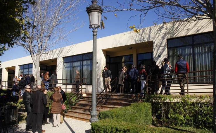 Fotos del último adiós a Antonio Garrido en Parcemasa