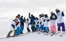 El World Snow Day más blanco