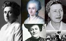 Las cinco mujeres que impulsaron el feminismo en Europa