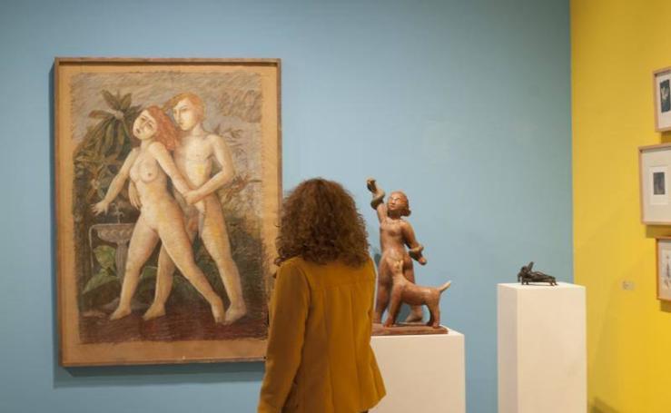 Fotos de la exposición en la UMA de tributo a Juan Antonio Ramírez