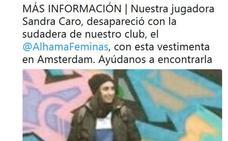 Localizan a la joven futbolista desaparecida tras el tiroteo de Ámsterdam