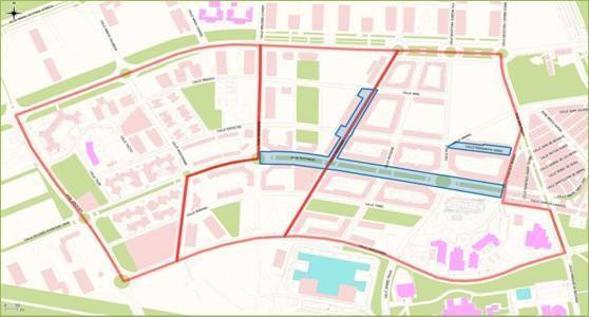 Resultado de imagen de mapa zas el romeral