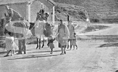 La huida por la Carretera de Málaga-Almería vista por Norman Bethune