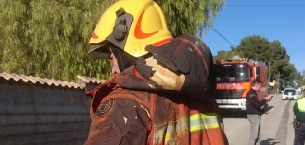 Dos bebés mueren en un incendio en Valencia