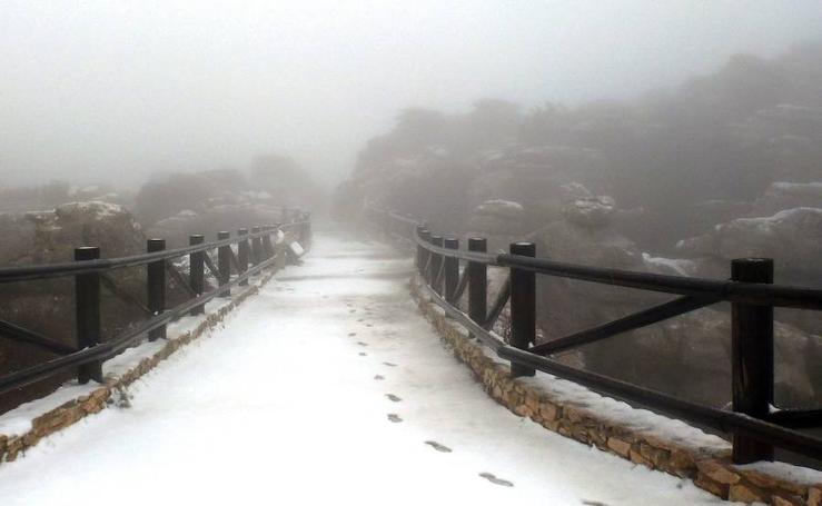 La Sierra de las Nieves, en imágenes