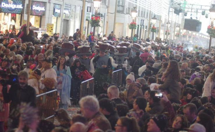Málaga disfruta de su penúltimo día del Carnaval 2018 en la calle (y II)