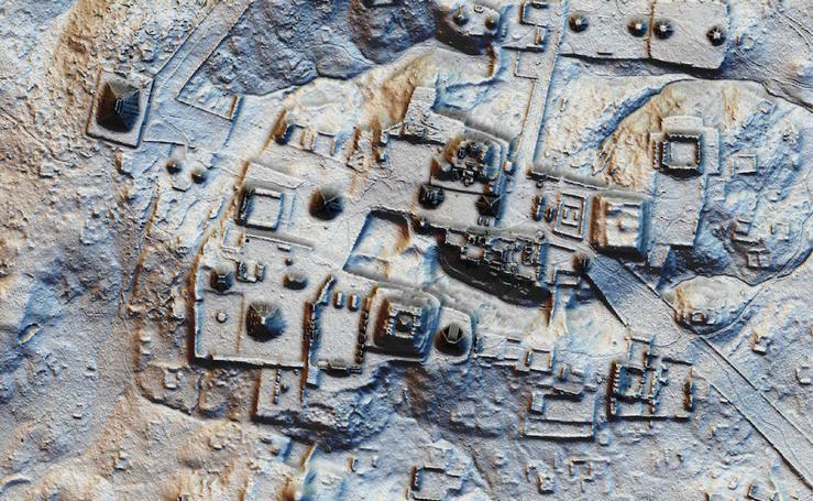 La ciudad maya descubierta en Guatemala, en imágenes