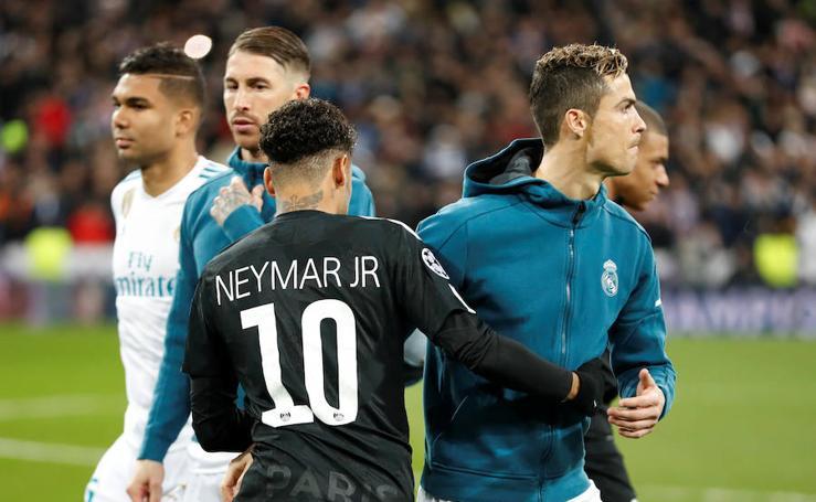 Los mejores momentos del Real Madrid-PSG, en imágenes