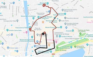 Itinerarios de las procesiones del Domingo de Ramos 2019