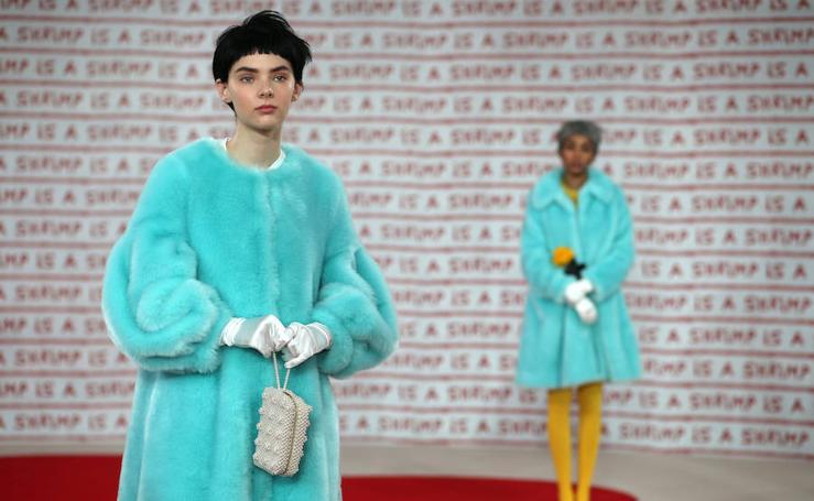La London Fashion Week, en imágenes