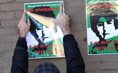 La familia de García Caparrós inicia una campaña para conocer la verdad de su muerte