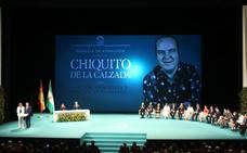 Díaz: «Lo siento de corazón, la medalla a Chiquito llega dolorosamente tarde»