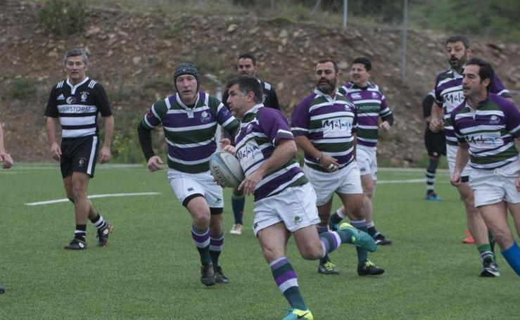 El Campeonato de Rugby Veterano en memoria de Manuel Becerra, en fotos