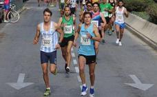 Un millar de atletas, en la carrera de la Peña El Bastón el domingo