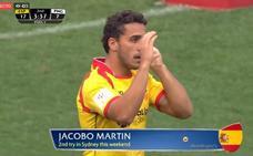 Jacobo Martín arranca la disputa de las 'World Rugby Seven Series' con la selección española