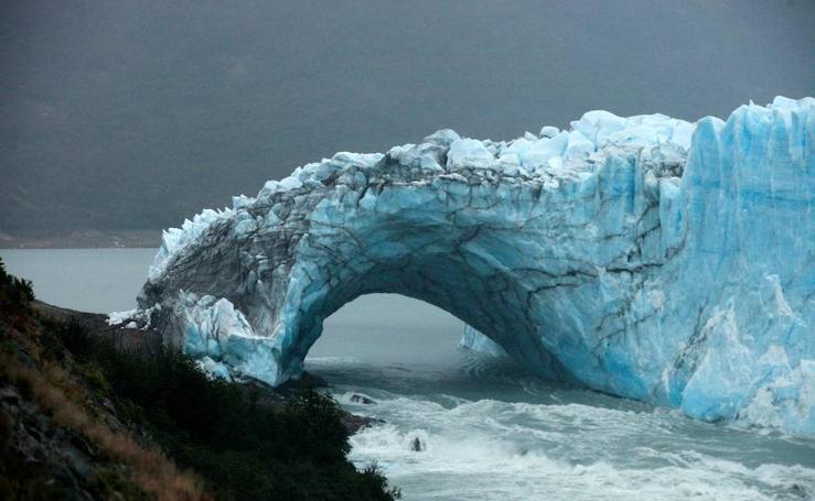 Imágenes del glaciar Perito Moreno, Argentina