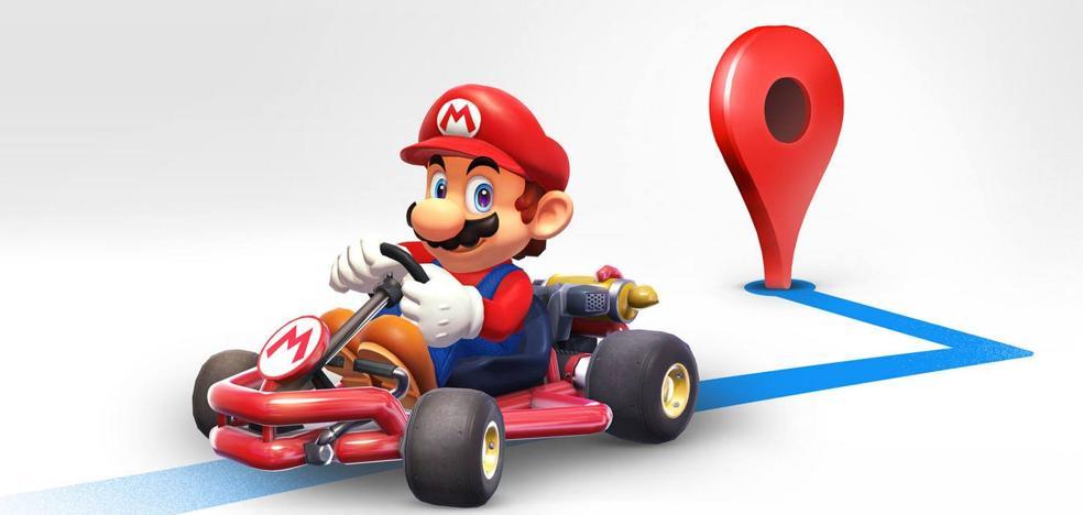 Cómo configurar tu Google Maps para ver a Mario Kart