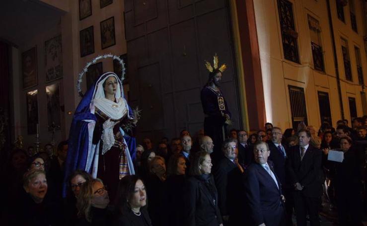 Fotos de los traslados de este viernes en Málaga