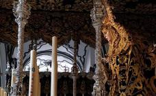 El pequeño Gabriel, presente en la candelería de María Santísima de Lágrimas y Favores