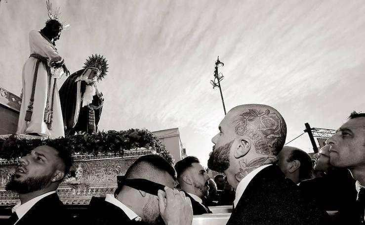 Tribuna de un forastero | Sábado de Pasión de la Semana Santa de Málaga 2018