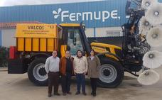 Fermupe exporta sus máquinasde limpieza de plantas solares