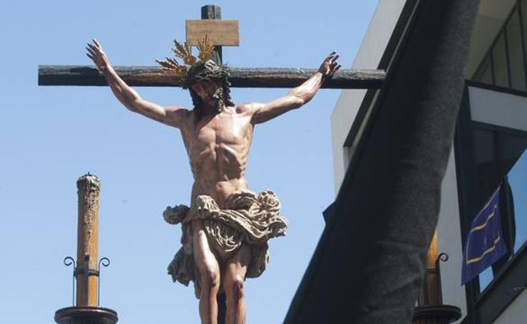 Crucifixión en el Lunes Santo de Málaga