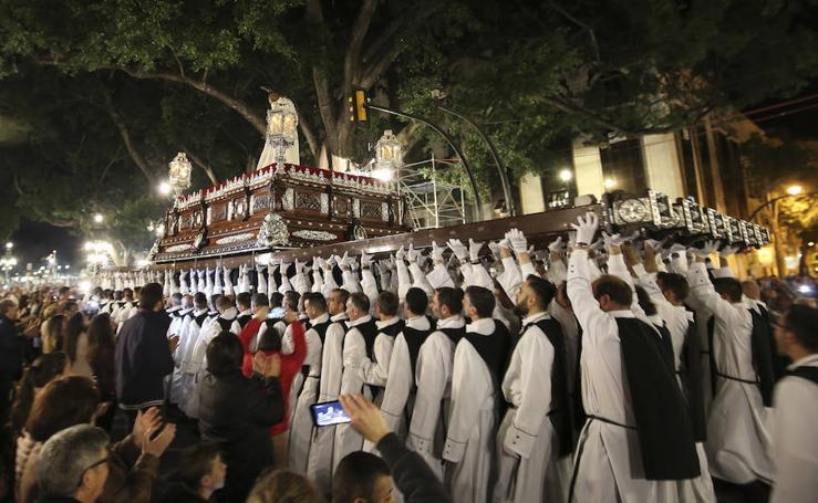 Recorrido procesional de Humillación y Estrella el Martes Santo