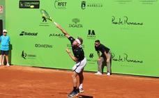 Buen estreno de Alejandro Davidovich en el Challenger de Marbella