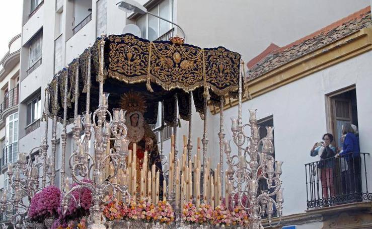 Recorrido procesional de Sentencia el Martes Santo