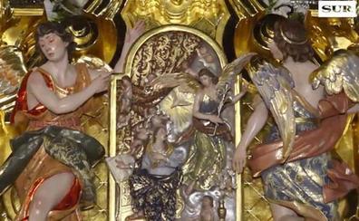 Vídeo | El trono de la Paloma, al detalle por las calles de Málaga