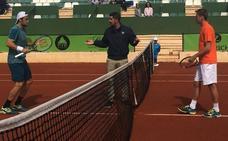 Andreozzi-Cecchinato y Travaglia- Klizan, semifinales en Marbella
