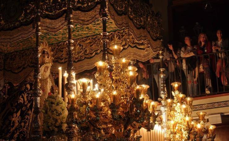 Todas las fotos del Jueves Santo de Málaga 2018