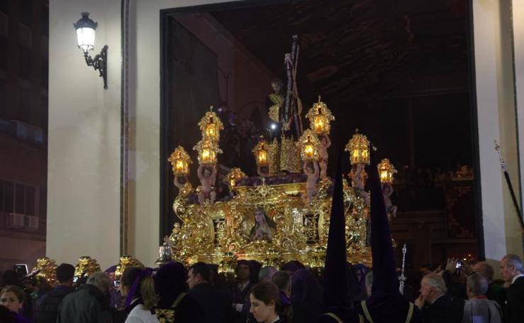 Recorrido procesional de Jesús Nazareno del Paso y Virgen de la Esperanza Coronada el Jueves Santo de Málaga