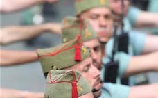Militares en las procesiones en tiempos de paz